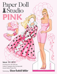 OPDAG Paper Doll Studio Issue 101 Pink