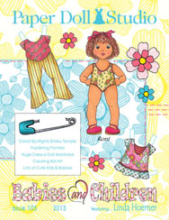 OPDAG Paper Doll Studio Issue 105 Babies and Children